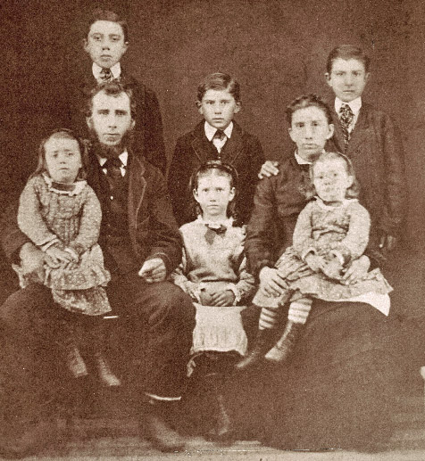 John and Esther Newcombe Family